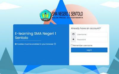 Ujian Sekolah Berbasis Komputer (USBK) di SMA Negeri 1 Sentolo